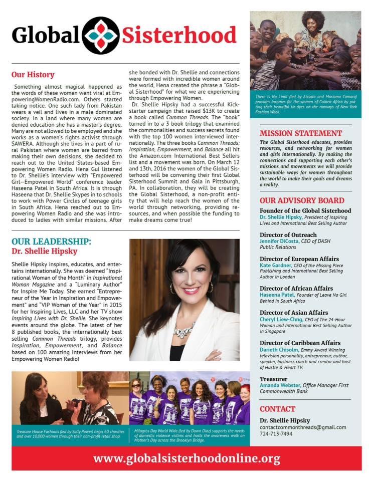 Global Sisterhood One Sheet