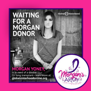 "Download the Morgan's Army Profile Picture and Show your support for Morgan: Click on the image and ""Save As..."" to your desktop."